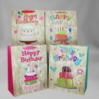 MD Birthday Bag w/ Popup & Glitter