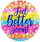 FEEL BETTER SOON DOTS HOLOGRAPHIC PKGD